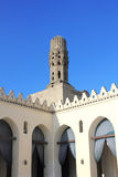Alte Moschee in Ägypten lizenzfreies stockbild