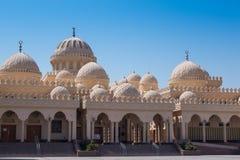 Alte moslemische Moschee in Hurghada Stockbild