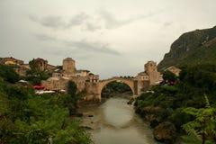 Alte Mostar-Brücke Lizenzfreie Stockbilder