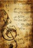 Alte Musik Stockfoto
