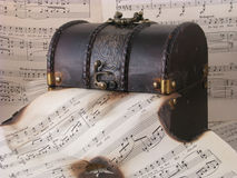 Alte Musik Lizenzfreie Stockfotografie