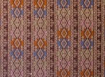 Alte Musterart thailändische Baumwolle Lizenzfreies Stockbild