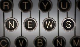 Alte Nachrichten Stockbilder