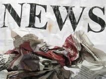 Alte Nachrichten Stockfotos