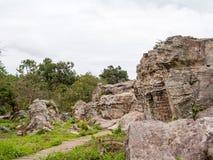 Alte natürliche Felsen Lizenzfreies Stockbild