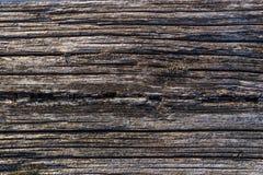 Alte natürliche verwitterte hölzerne Beschaffenheitswand als Beschaffenheit oder Hintergrund Stockfotos