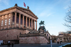 Alte Nationalgalerie Royalty Free Stock Photo