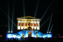 Alte Nationalgalerie. Old National gallery - Night shot Stock Image