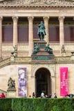 Alte Nationalgalerie auf Museumsinsel in Berlin Lizenzfreies Stockbild