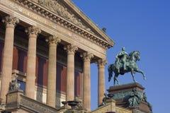 Alte Nationalgalerie in Berlijn Stock Foto