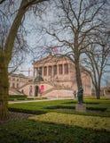 Alte Nationalgalerie in Berlijn, Duitsland Stock Foto's
