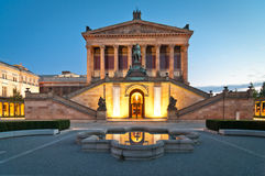 Alte Nationalgalerie Berlin Stockbild