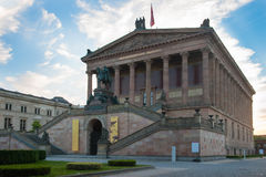 Alte Nationalgalerie Berlin Image libre de droits