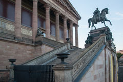 Alte Nationalgalerie Berlin Detail Fotografia de Stock Royalty Free