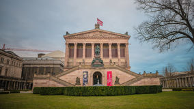 Alte Nationalgalerie in Berlin, Germany Royalty Free Stock Images