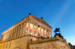 The Alte Nationalgalerie in Berlin Royalty Free Stock Photo