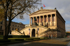 Alte Nationalgalerie, Berlino Fotografie Stock