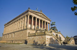 Alte Nationalgalerie en Berlín Foto de archivo