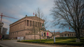 Alte Nationalgalerie en Berlín, Alemania Foto de archivo libre de regalías