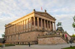 Alte Nationalgalerie i Museumsinselen Fotografering för Bildbyråer
