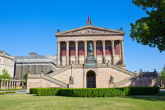 Alte Nationalgalerie at Museumsinsel in Berlin Stock Images