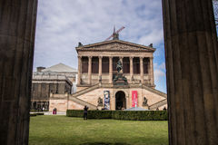 The Alte Nationalgalerie Old National Gallery in the Museumsinsel Museums Island, Berlin Stock Images