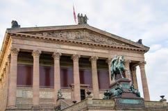 Alte Nationalgalerie przy Museumsinsel Zdjęcia Royalty Free