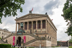 Alte Nationalgallery Berlín Foto de archivo