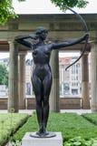 Alte Nationalgallery Berlin Statue Immagine Stock Libera da Diritti