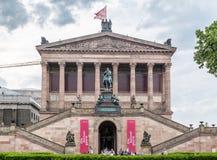Alte Nationalgallery Berlino Fotografie Stock