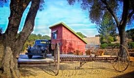 Alte Nebenfluss-Ranch Lizenzfreie Stockbilder