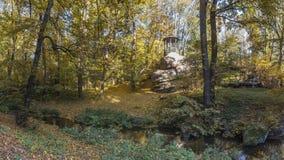 Alte Nische in Sofiyivka-Park in Uman, Ukraine stockbilder