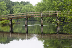 Alte Nordbrücke lizenzfreies stockbild
