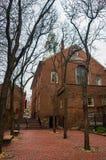 Alte Nordkirche von Boston Stockbilder