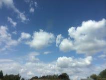 Alte nubi Fotografie Stock