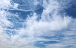 Alte nuvole 3 Immagini Stock