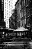 Alte NYC-Straße Stockbilder