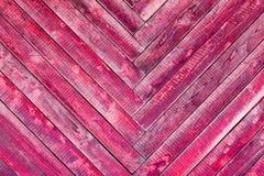 Alte Oberfläche des hölzernen Brettes mit einer schäbigen Farbe Stockbilder