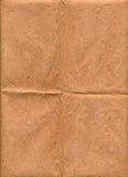 Alte Oberflächenbeschaffenheit des braunen Papiers Stockbilder