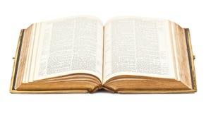 Alte offene Bibel Lizenzfreies Stockbild