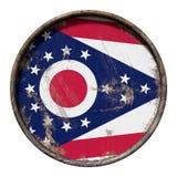 Alte Ohio-Flagge Lizenzfreies Stockbild