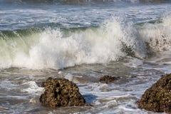 Alte onde di Oceano Indiano Fotografia Stock
