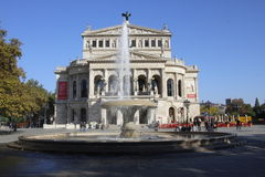 Alte Oper Stock Photography