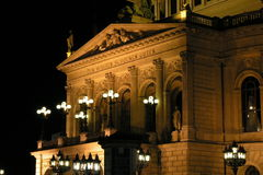 Alte Oper Frankfurt Royalty Free Stock Photo