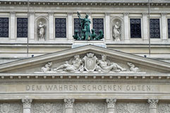 Alte Oper, Frankfurt Stock Fotografie