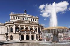 Alte Oper Frankfurt Royalty-vrije Stock Foto