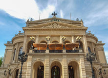 Alte Oper in Frankfurt Stock Photos