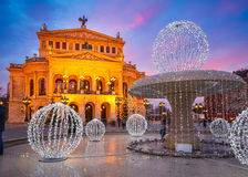 Alte Oper in Frankfurt Stock Images