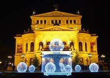 Alte Oper, Frankfurt magistrala - Am - Fotografia Royalty Free
