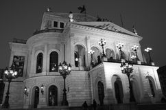 Alte Oper, Frankfurt magistrala - Am - Obrazy Royalty Free